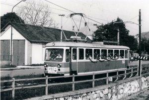 Pohľad na staré depo TREŽ v 80. rokoch minulého storočia.