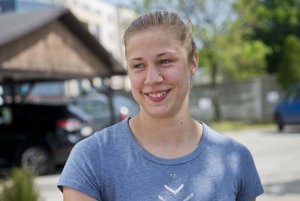 Najlepšia slovenská plavkyňa Andrea Podmaníková trénuje na univerzite v Dallase pod vedením Steva Collinsa.