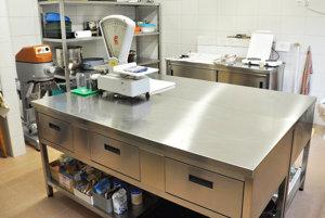 Nové vybavenie kuchyne.