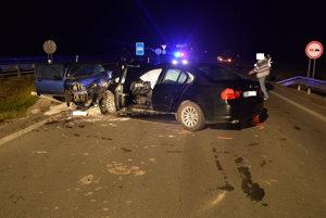 Nehoda pri Žarnovici.