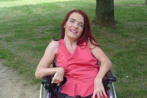Martina Holentová. Až v piatich rokoch jej diagnostikovali detskú mozgovú obrnu.