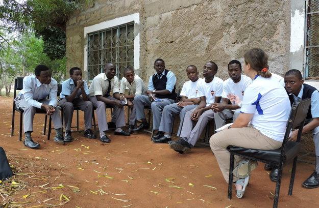 Práca konzultantky rozvojových projektov