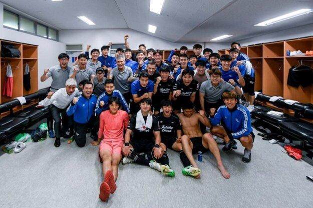 Šatňa Seongnam FC.