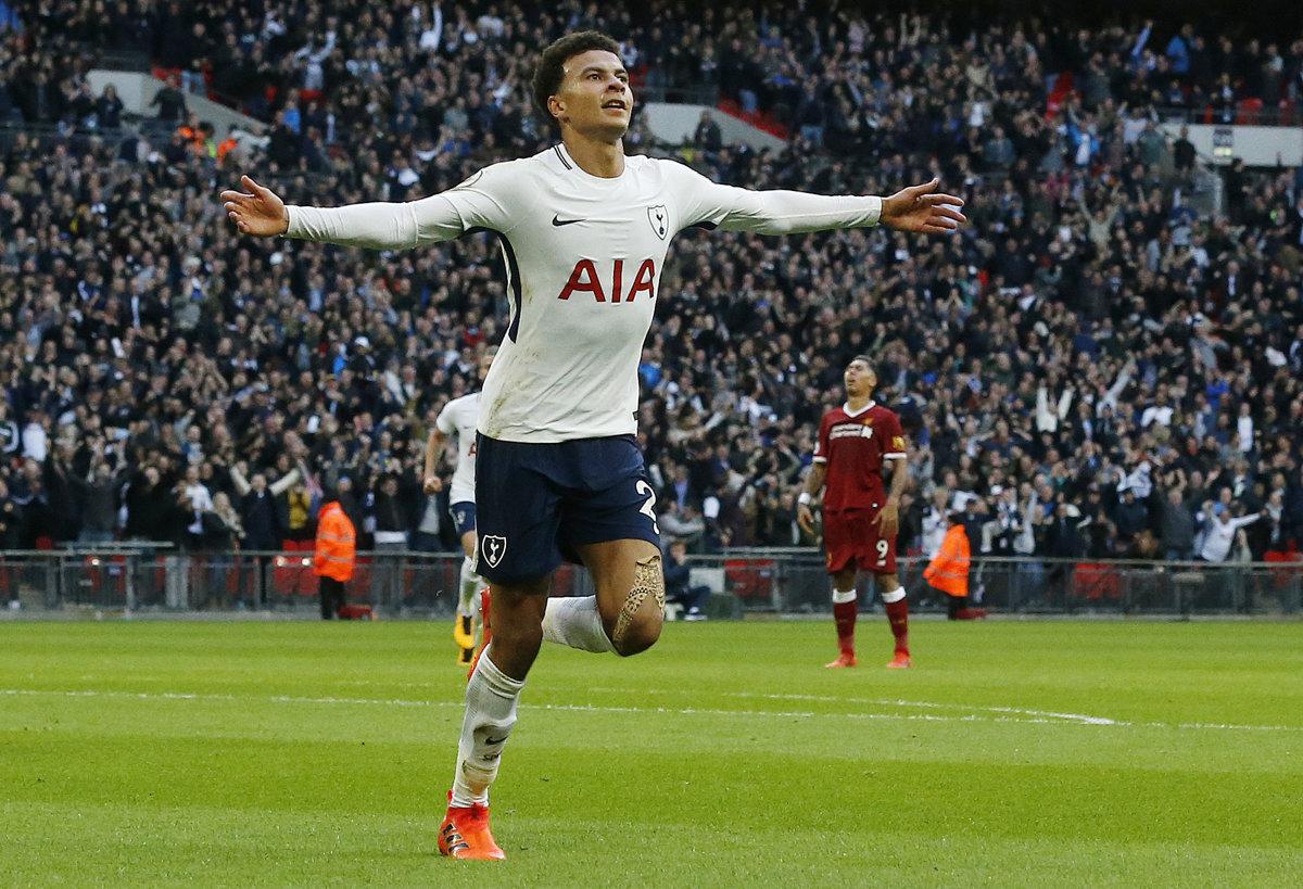 e6de8bf2ec210 ONLINE: Tottenham Hotspur - FC Liverpool 4:1 (Premier League 2017/2018, 9.  kolo)