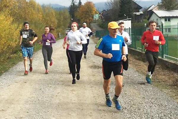 Na premiérovom ročníku bežalo viac ako 20 bežcov.
