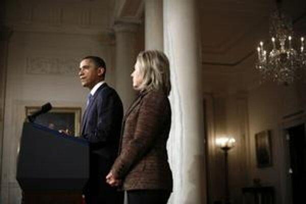 Ide o prvú reakciu amerického prezidenta na krviprelievanie v Líbyi.