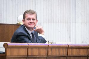 Minister hospodárstva SR Peter Žiga.