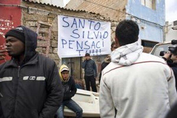 Sväty Silvio, vyrieš to. Odkaz pre talianskeho premiéra.