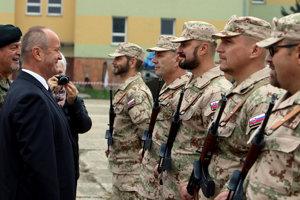 Vojaci odchádzajú od Iraku.