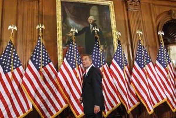 """Johna Boehnera zvolili za predsedu Snemovne. Republikán sa nazval """"strážca rozpočtu""""."""