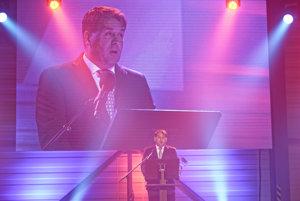 Konateľ spoločnosti MSM Group Marián Goga v príhovore počas slávnostného otvorenia výcvikového strediska.