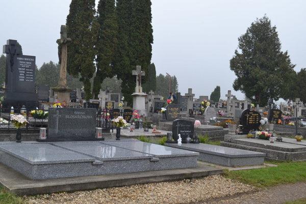 Podoba dnešných cintorínov.