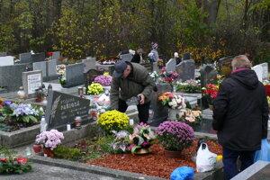 Sklabinský cintorín v Martine III.