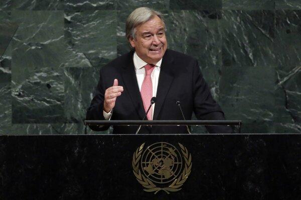 Antonio Guterres, generálny tajomník OSN.