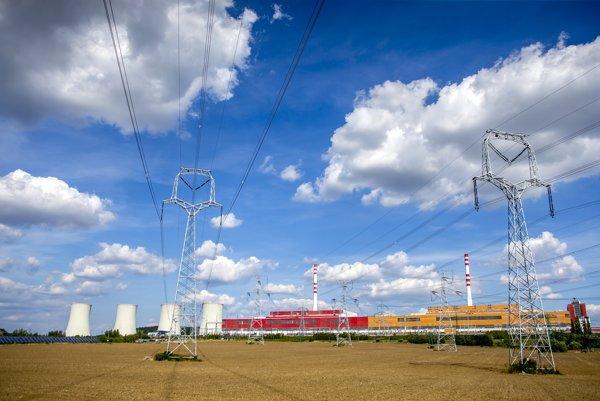 Elektráreň v Mochovciach.