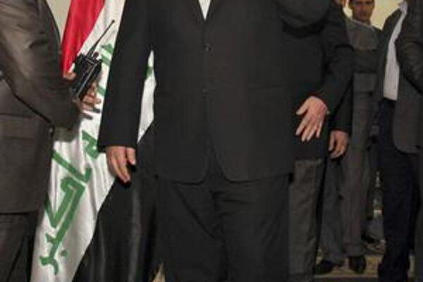 Víťaz irackých volieb Aláví.