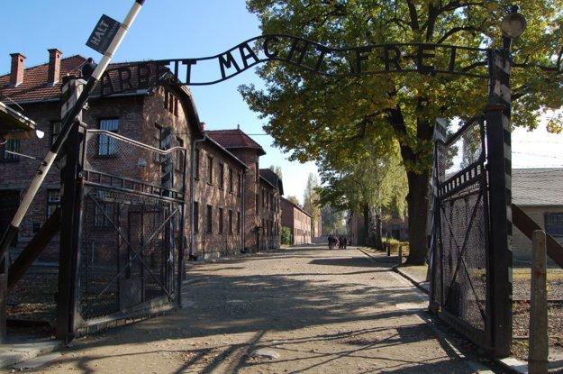 Osvienčim. Magda tam so sestrami žila od júna do septembra 1944.