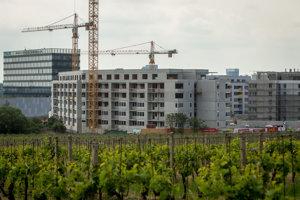Výstavba v Bratislave. (ilustračné foto)