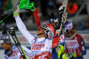 Petra Vlhová vyhrala slalom v Levi.