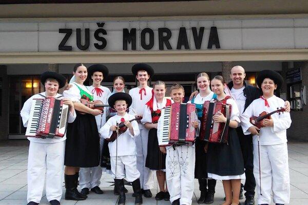 Muzikanti spod Rokoša mali koncertné vystúpenie v moravskom Zlíne.