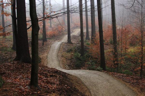 Flow trail pre cyklistov.
