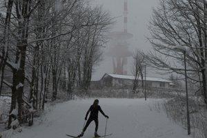 Lyžiarske stredisko Skalka je obľúbené aj u bežkárov.
