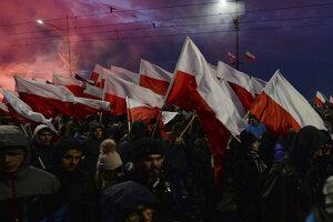Pochod nezávislosti vo Varšave v zahraničí označili aj za fašistický, Poľsku sa to nepáči.