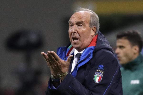 Gian Piero Ventura sa trénerskej stoličky vzdať nechce.