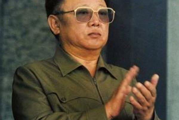 Severokórejský diktátor Kim Čong-il.