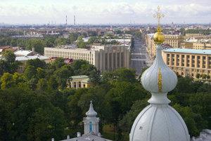 Petrohrad: Časť mesta.