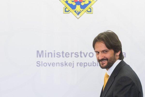 Minister vnútra Robert Kaliňák.