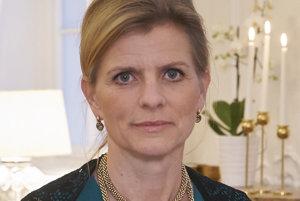 Helen Eduarsdová, švédska veľvyslankyňa.