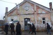 Bývalé kasárne pod Zoborom.