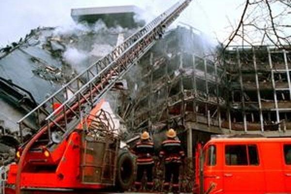 Letecký útok síl NATO si najviac odniesol Belehrad.