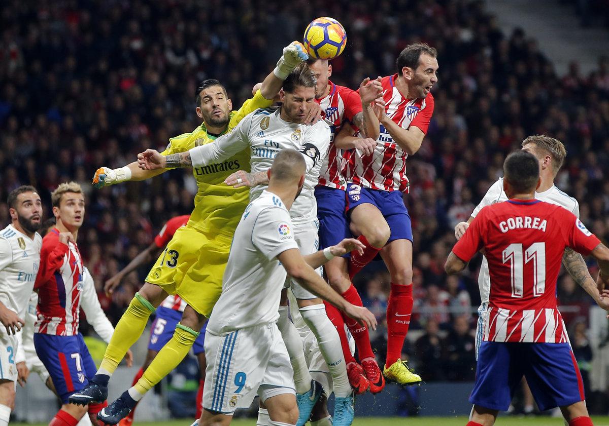 fe0da7824 ONLINE: Atlético Madrid - Real Madrid 0:0 (La Liga) - Šport SME