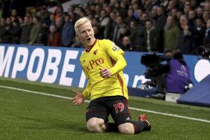 Hráči Watfordu porazili West Ham United.