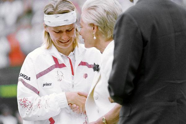 Jeden z najikonickejších momentov v histórii Wimbledonu.