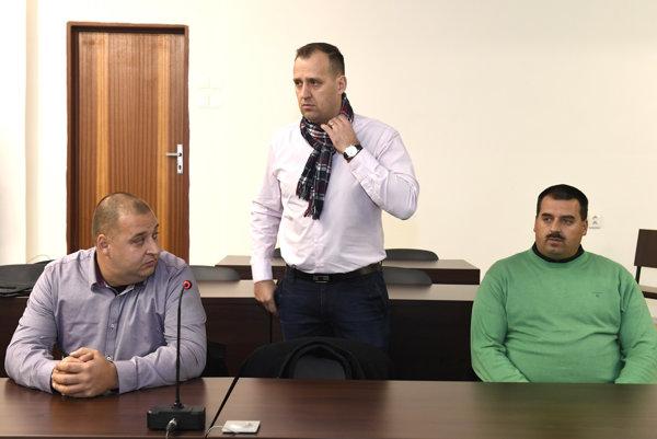 Zľava Maroš, Martin a Branislav Paškovci.