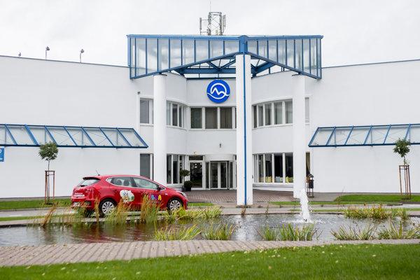 Sídlo TV Markíza v Záhorskej Bystrici.
