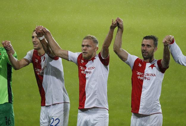 Slavia vyhrala v Izraeli 2:0.