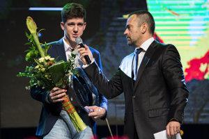 Martin Fekiač si prevzal ocenenie Junior roka na slávnostnom vyhlásení najlepších tenistov Slovenska - Tenista roka 2017.