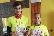 Ocenení súrodenci Tomáš a Janka Pytelovci.