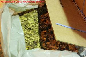 V Sobranciach našli takmer deväť ton tabaku.