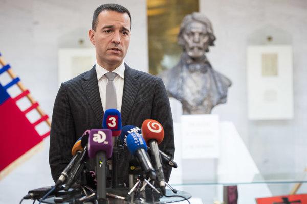 Na snímke minister zdravotníctva Tomáš Drucker.