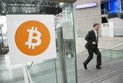Logo bitcoinu.