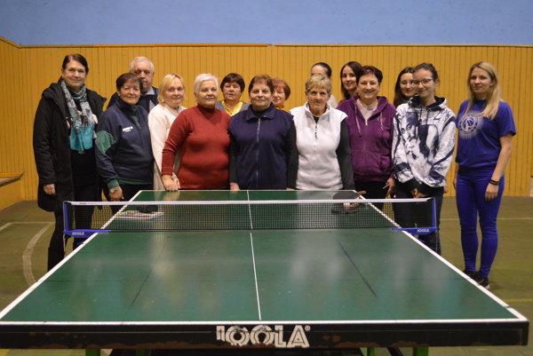 Spoločné foto účastníčok turnaja.