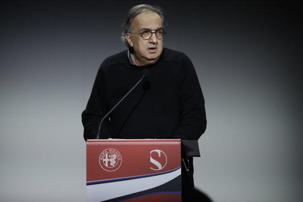 Sergio Marchionne zomrel vo veku 66 rokov.