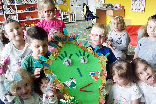 Deti sa do projektu zapojili s radosťou.