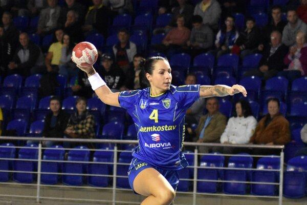 Strelila 70 gólov. Mária Holešová je tretia medzi kanonierkami ligy.