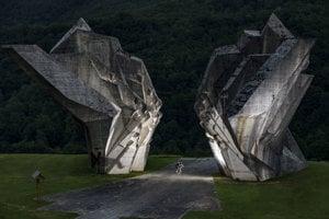 Monument v Bosne a Hercegovine.